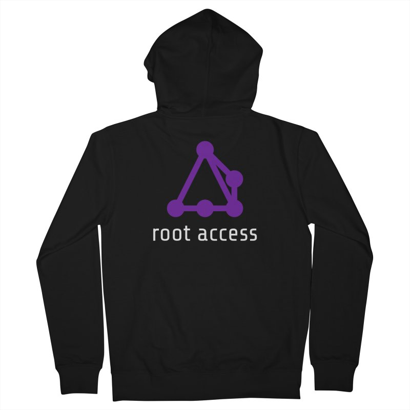 Root Access Men's Zip-Up Hoody by Root Access Hackerspace