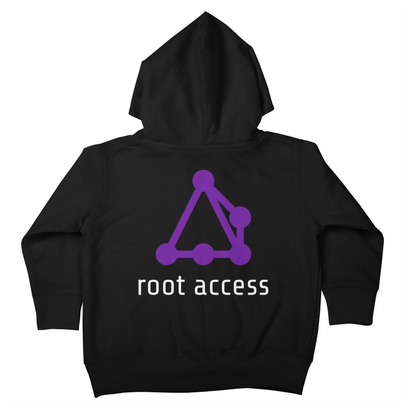 Root Access Kids Toddler Zip-Up Hoody by Root Access Hackerspace