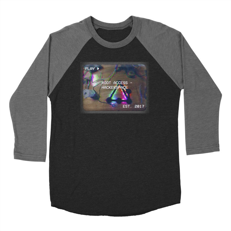 PLAY ► Women's Longsleeve T-Shirt by Root Access Hackerspace