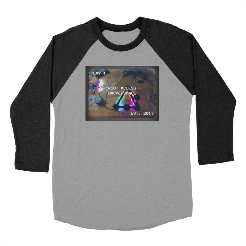 PLAY ► Men's Longsleeve T-Shirt by Root Access Hackerspace