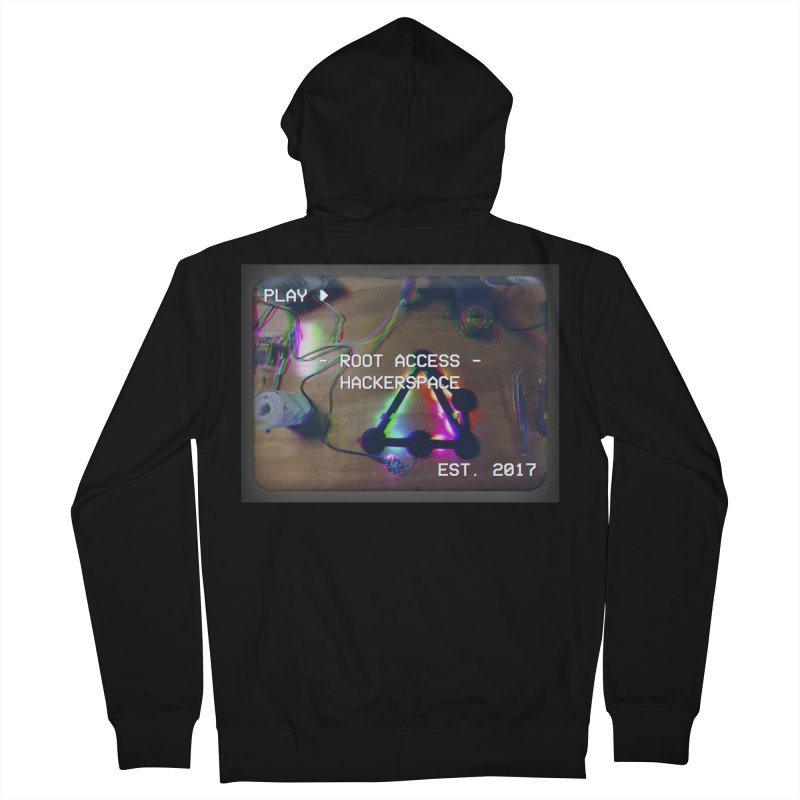 PLAY ► Women's Zip-Up Hoody by Root Access Hackerspace