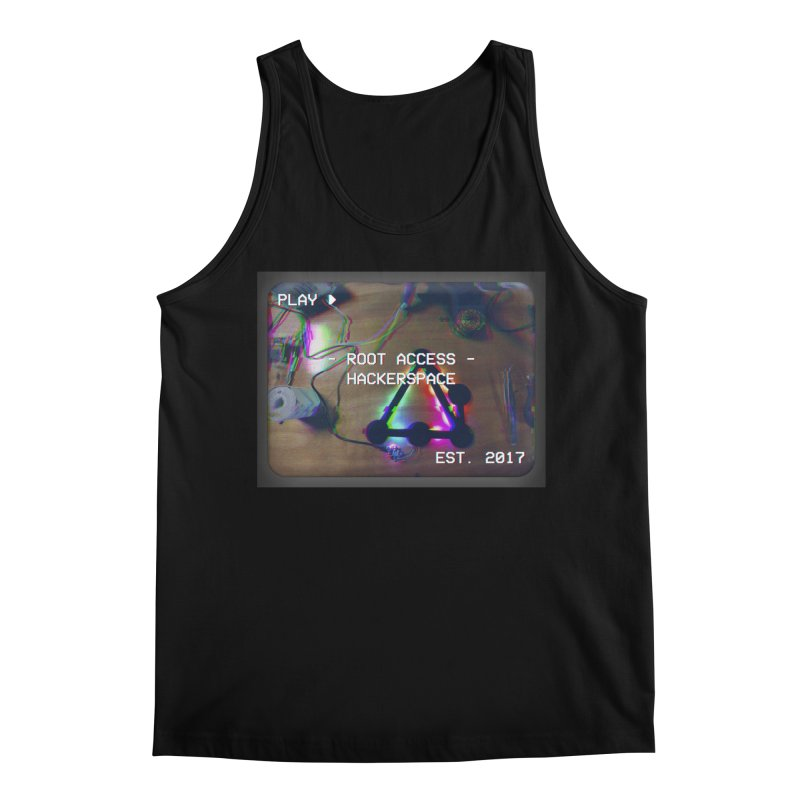 PLAY ► Men's Tank by Root Access Hackerspace