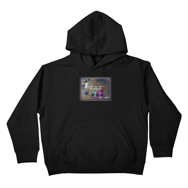 PLAY ► Kids Pullover Hoody by Root Access Hackerspace