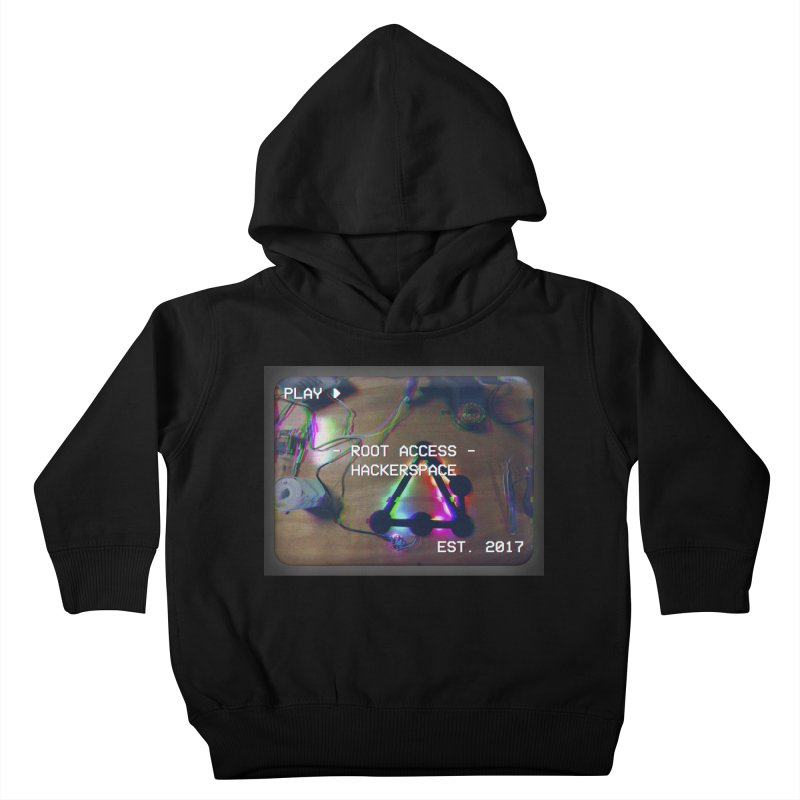 PLAY ► Kids Toddler Pullover Hoody by Root Access Hackerspace