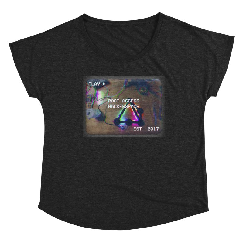 PLAY ► Women's Scoop Neck by Root Access Hackerspace
