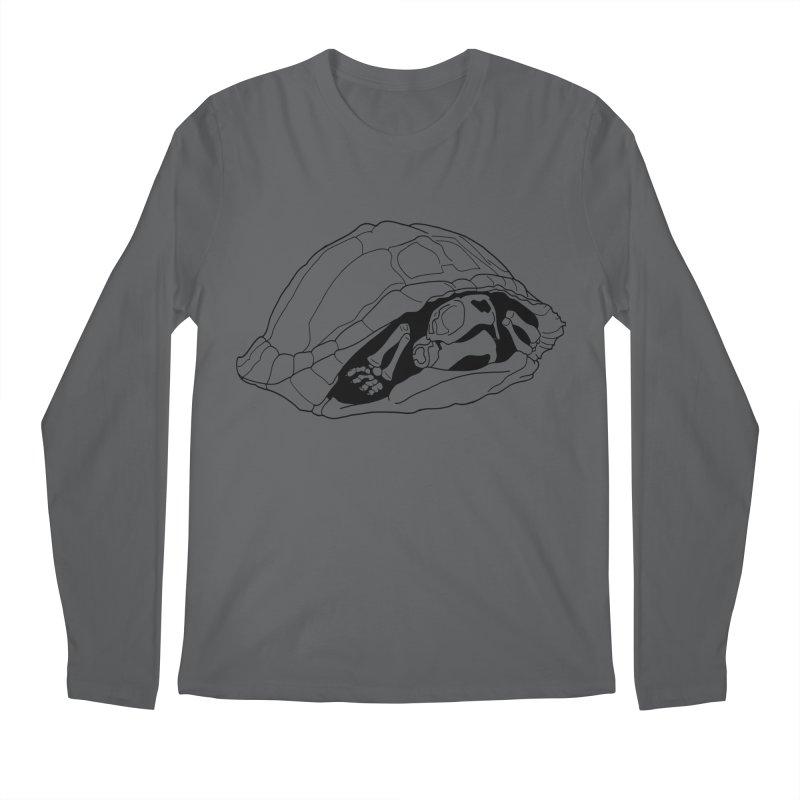 Box Turtle Skeleton Men's Longsleeve T-Shirt by rootinspirations's Artist Shop