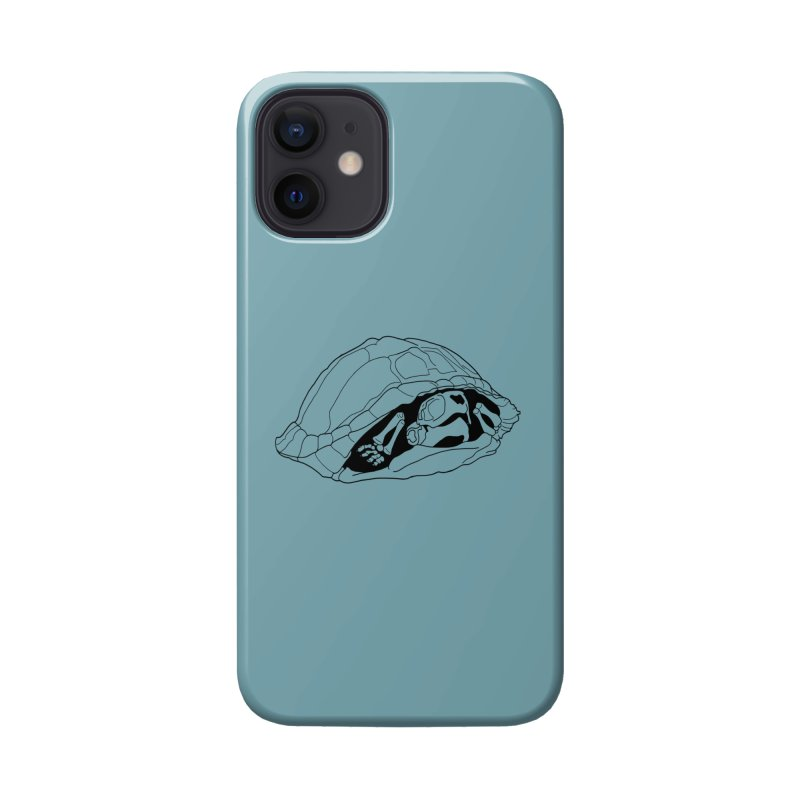 Box Turtle Skeleton Accessories Phone Case by rootinspirations's Artist Shop