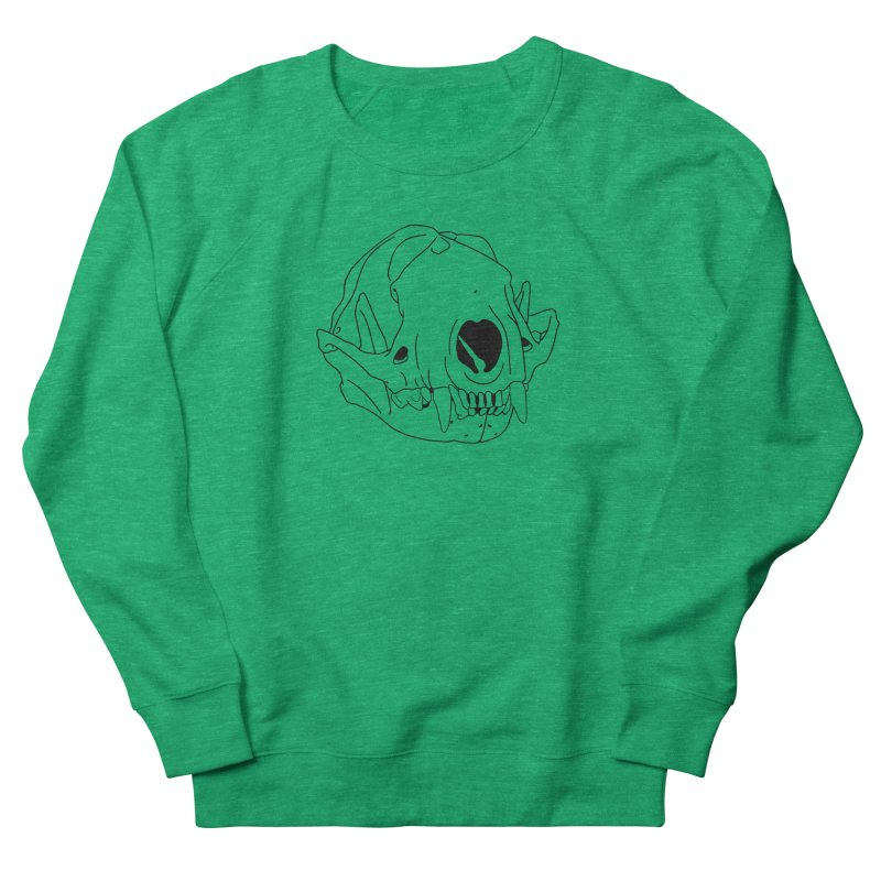 Skunk Skull Women's Sweatshirt by rootinspirations's Artist Shop