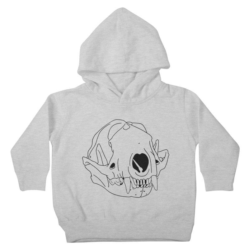 Skunk Skull Kids Toddler Pullover Hoody by rootinspirations's Artist Shop