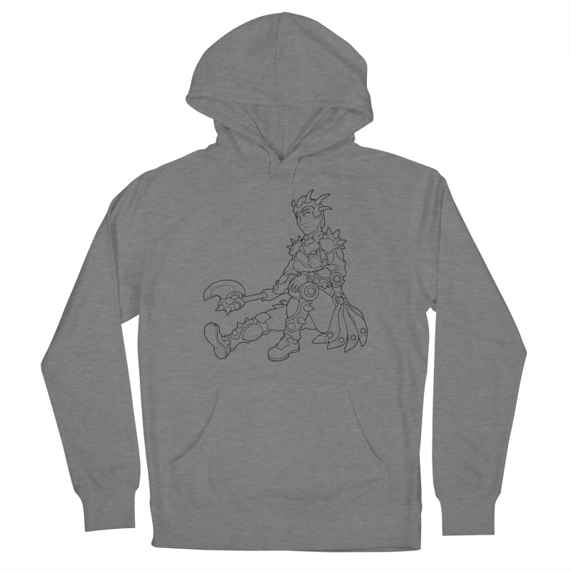 Autumn Avatar, personification of seasons Women's Pullover Hoody by rootinspirations's Artist Shop