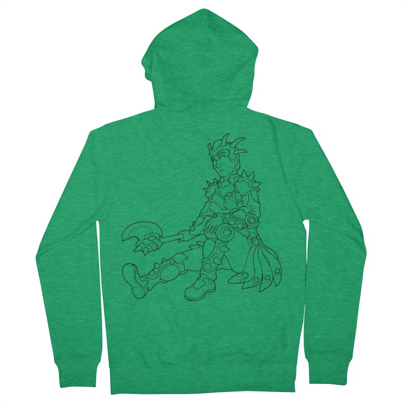 Autumn Avatar, personification of seasons Women's Zip-Up Hoody by rootinspirations's Artist Shop