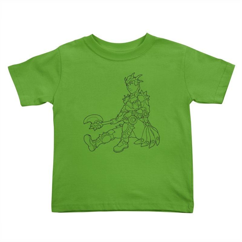 Autumn Avatar, personification of seasons Kids Toddler T-Shirt by rootinspirations's Artist Shop