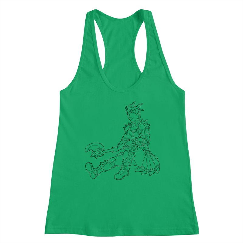 Autumn Avatar, personification of seasons Women's Tank by rootinspirations's Artist Shop