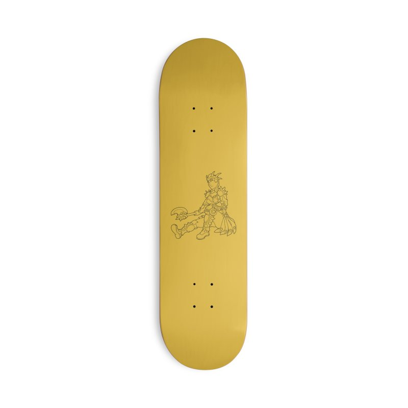 Autumn Avatar, personification of seasons Accessories Skateboard by rootinspirations's Artist Shop