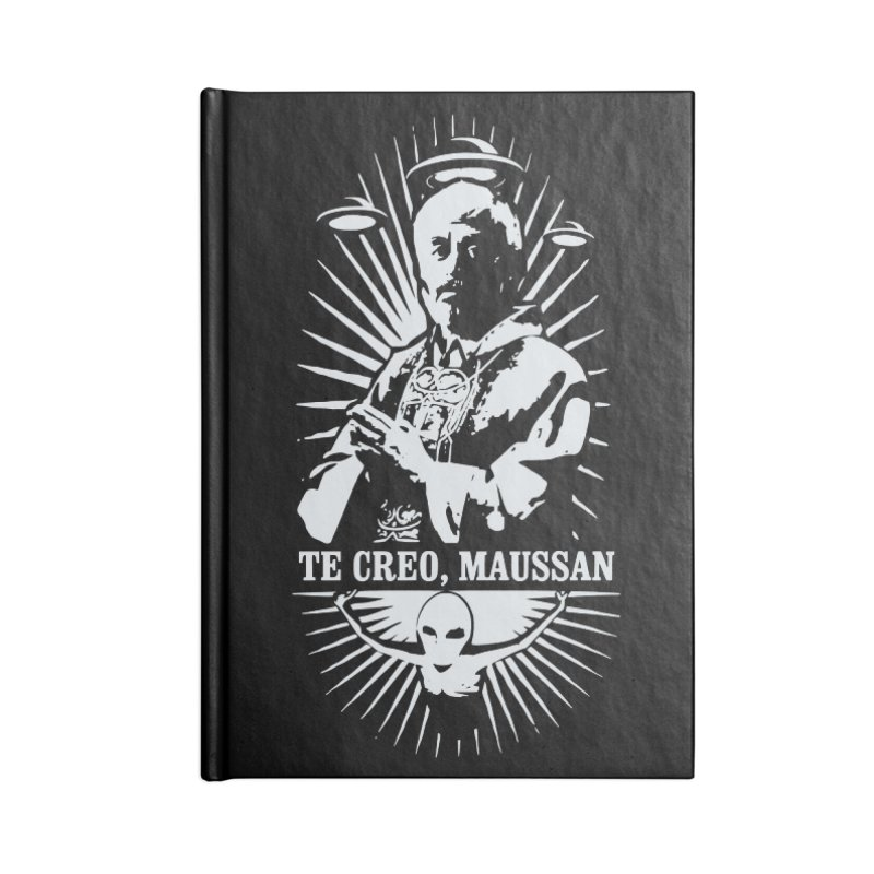 Te Creo, Maussan Accessories Blank Journal Notebook by ropero.mx