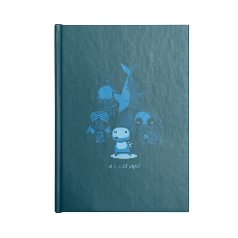 ai si ded pipol Accessories Blank Journal Notebook by ropero.mx