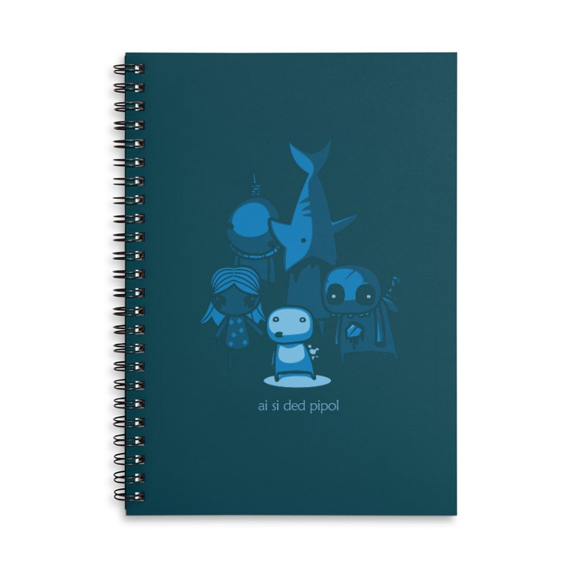 ai si ded pipol Accessories Notebook by ropero.mx