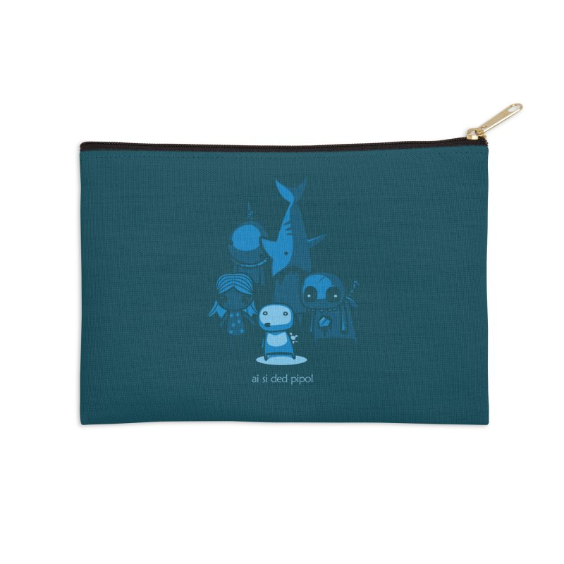ai si ded pipol Accessories Zip Pouch by ropero.mx