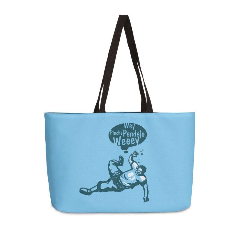 Wey, Pinche Pendejo Weeey Accessories Weekender Bag Bag by ropero.mx