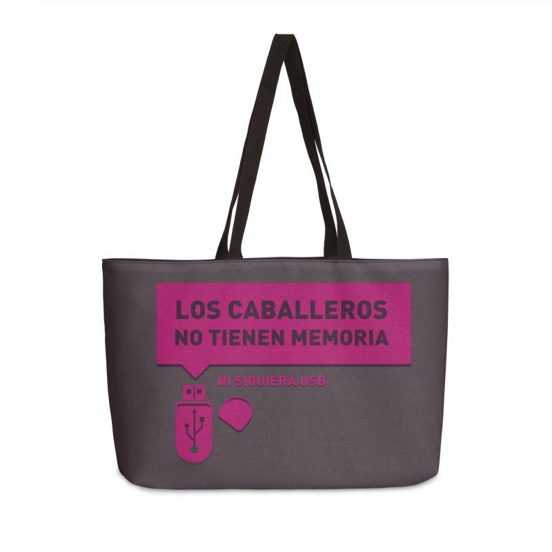 Los Caballeros No Tienen Memoria Accessories Weekender Bag Bag by ropero.mx