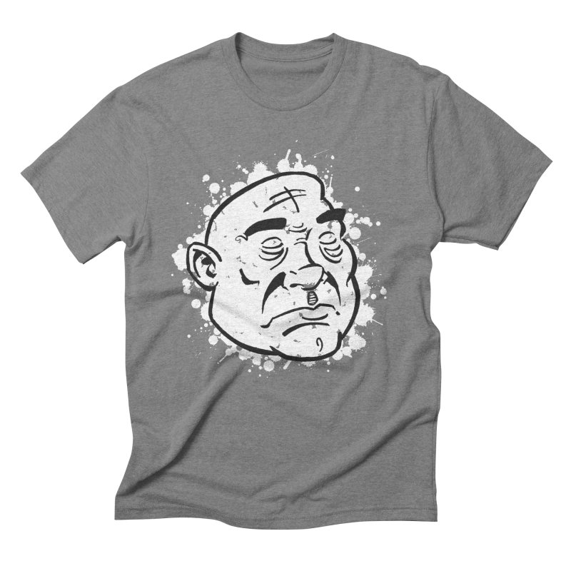 Facialisation Men's Triblend T-Shirt by Murphed