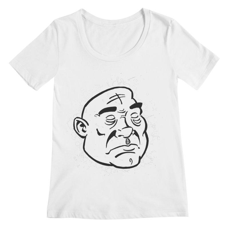 Facialisation Women's Regular Scoop Neck by Murphed