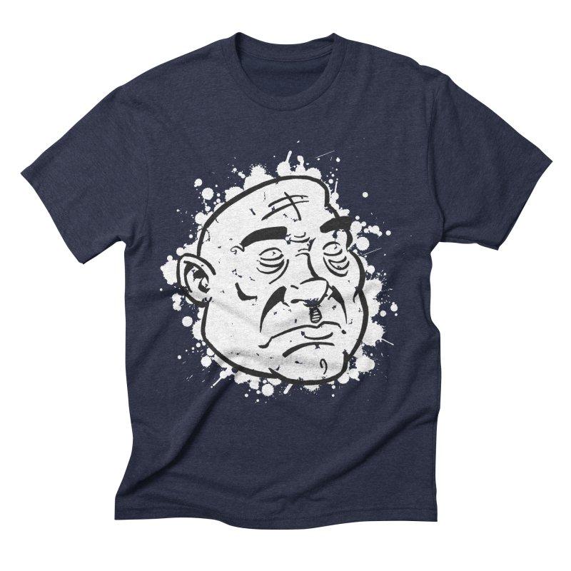 Facialisation Men's Triblend T-shirt by Murphed