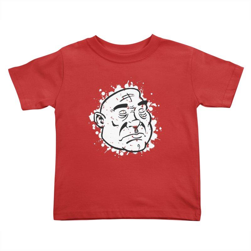 Facialisation Kids Toddler T-Shirt by Murphed