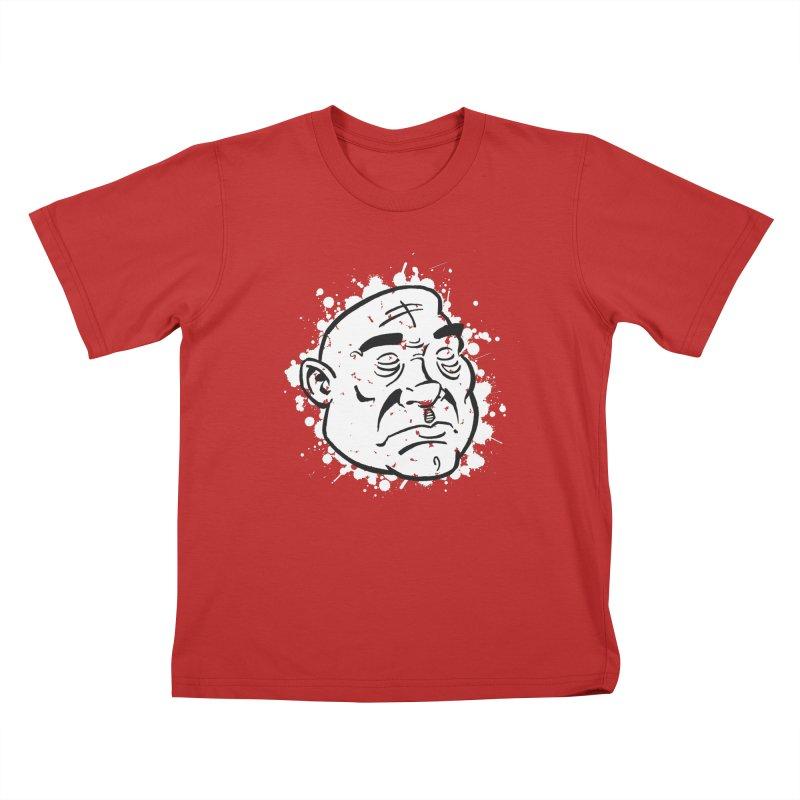 Facialisation Kids T-Shirt by Murphed