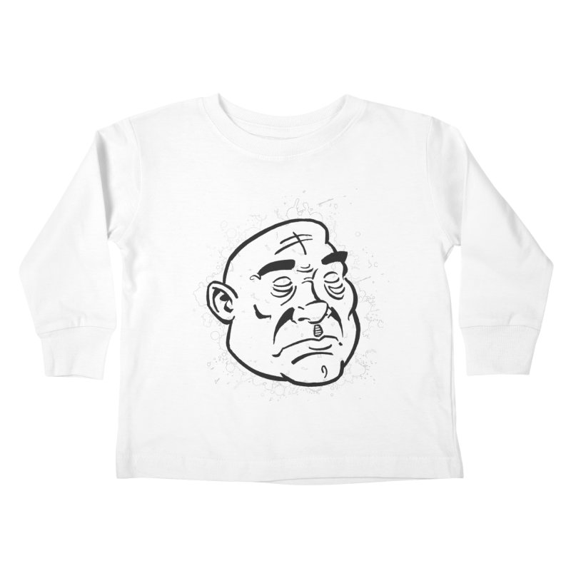 Facialisation Kids Toddler Longsleeve T-Shirt by Murphed