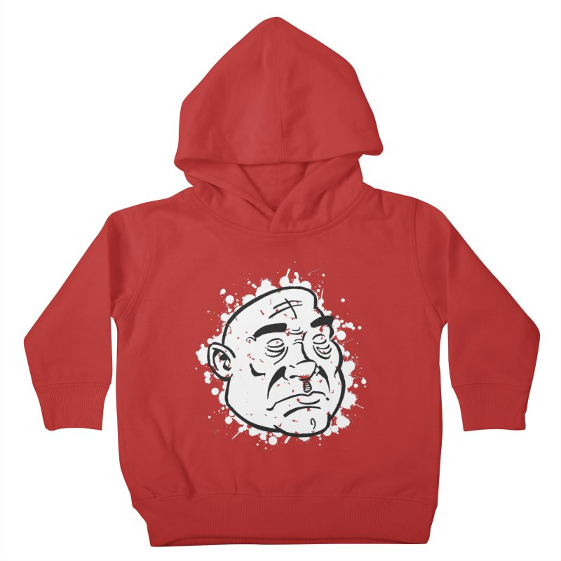 Facialisation Kids Toddler Pullover Hoody by Murphed