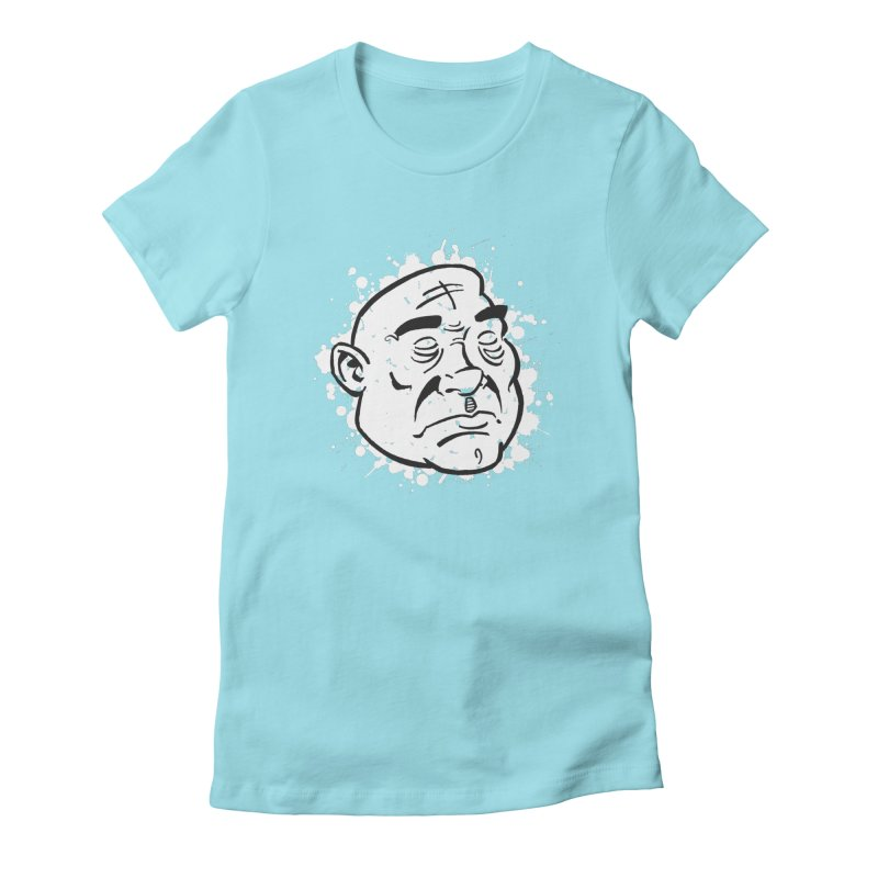 Facialisation Women's Fitted T-Shirt by Murphed