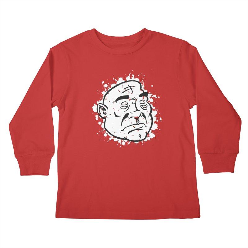Facialisation Kids Longsleeve T-Shirt by Murphed