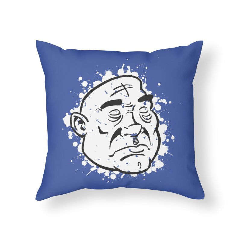 Facialisation Home Throw Pillow by Murphed