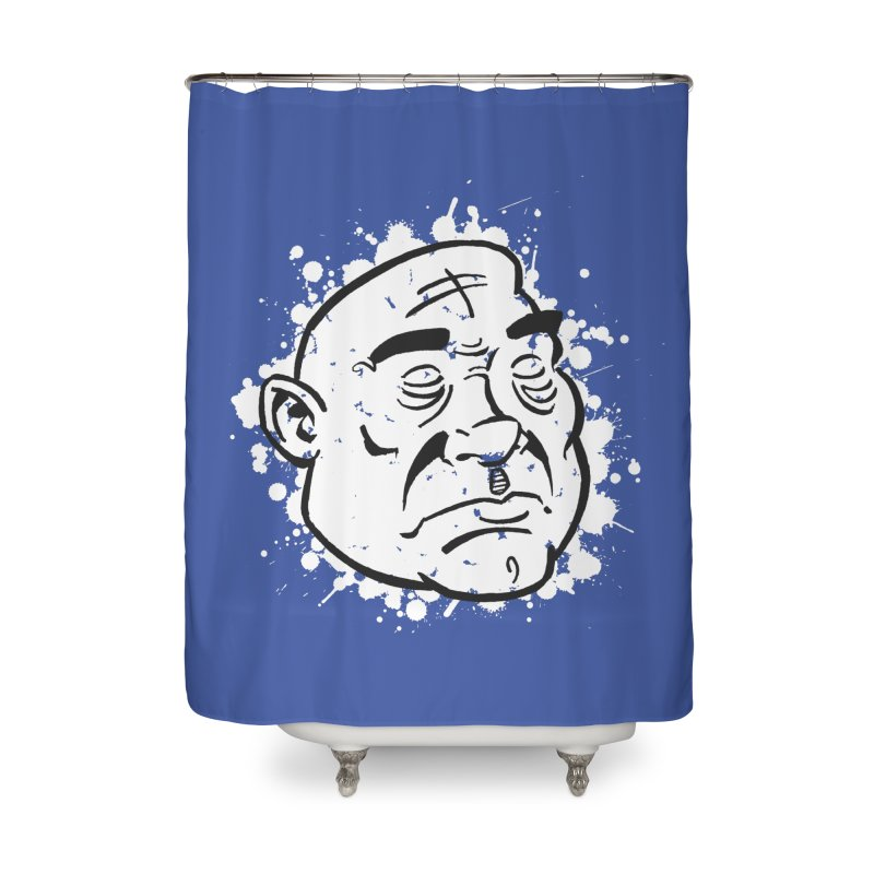Facialisation Home Shower Curtain by Murphed