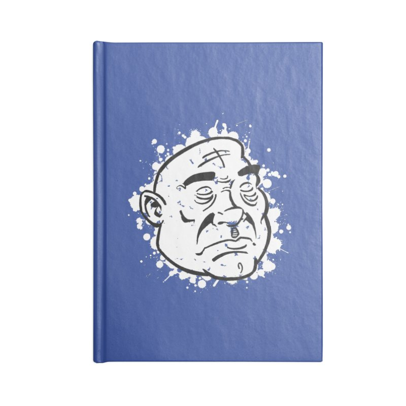 Facialisation Accessories Blank Journal Notebook by Murphed