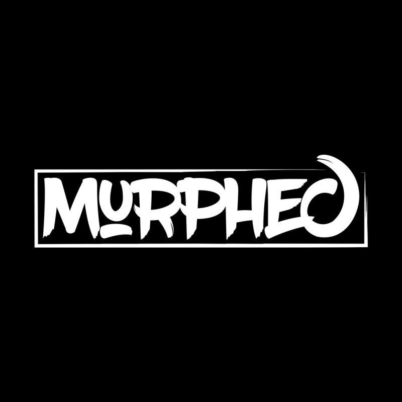 Murphed Logo (White on Black) Accessories Bag by Murphed