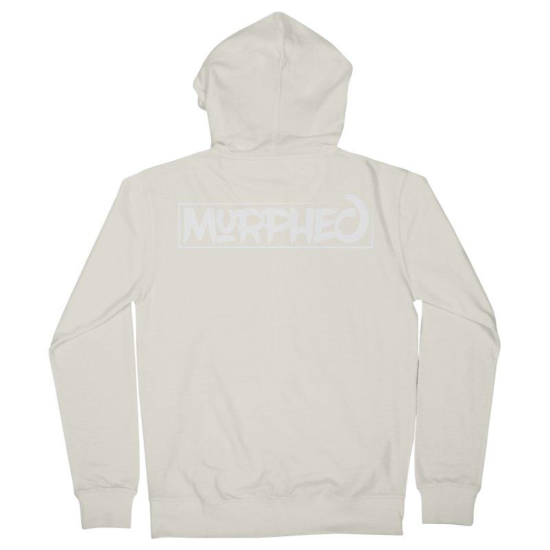 Murphed Logo (White on Black) Women's Zip-Up Hoody by Murphed