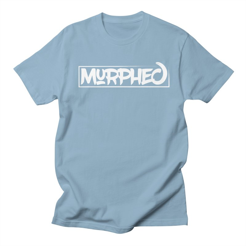 Murphed Logo (White) Men's T-shirt by Murphed