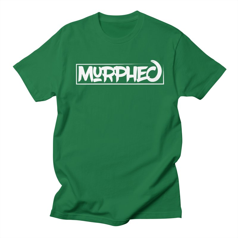 Murphed Logo (White) Men's T-shirt by Murphed