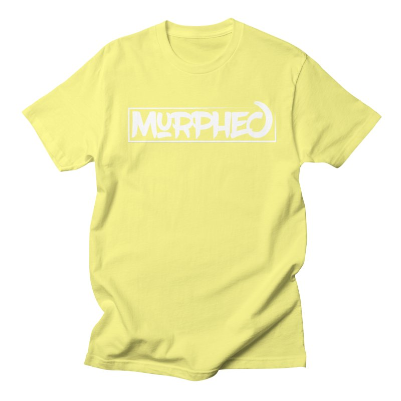 Murphed Logo (White on Black) Women's Unisex T-Shirt by Murphed
