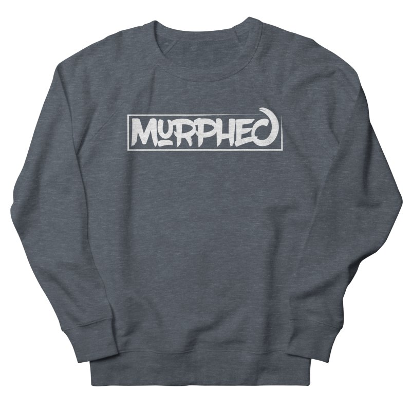 Murphed Logo (White) Men's Sweatshirt by Murphed