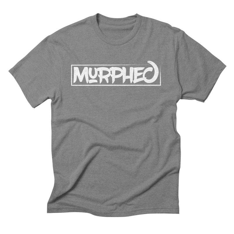 Murphed Logo (White on Black) Men's Triblend T-Shirt by Murphed