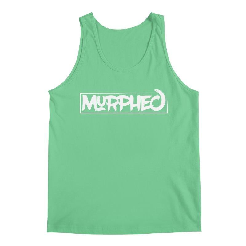 Murphed Logo (White on Black) Men's Regular Tank by Murphed