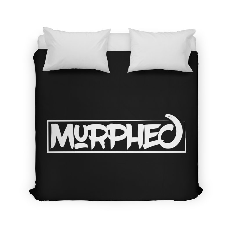 Murphed Logo (White) Home Duvet by Murphed
