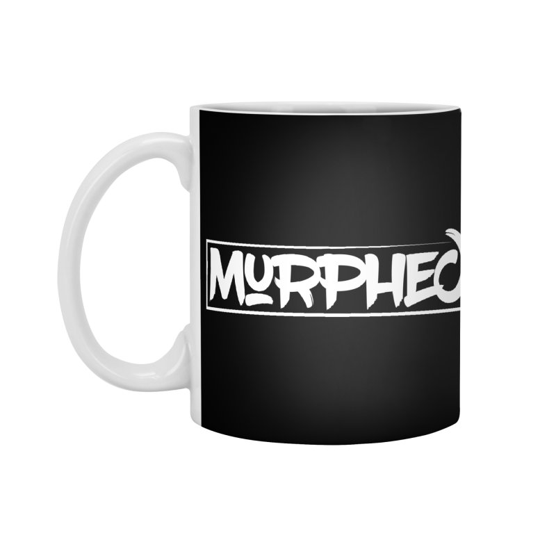 Murphed Logo (White on Black) Accessories Mug by Murphed