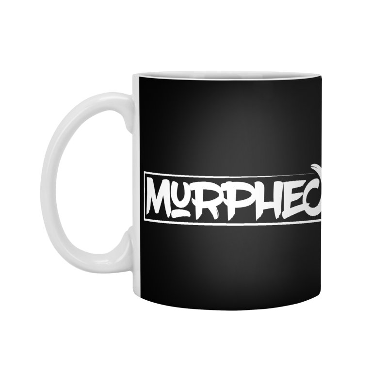 Murphed Logo (White on Black) Accessories Standard Mug by Murphed