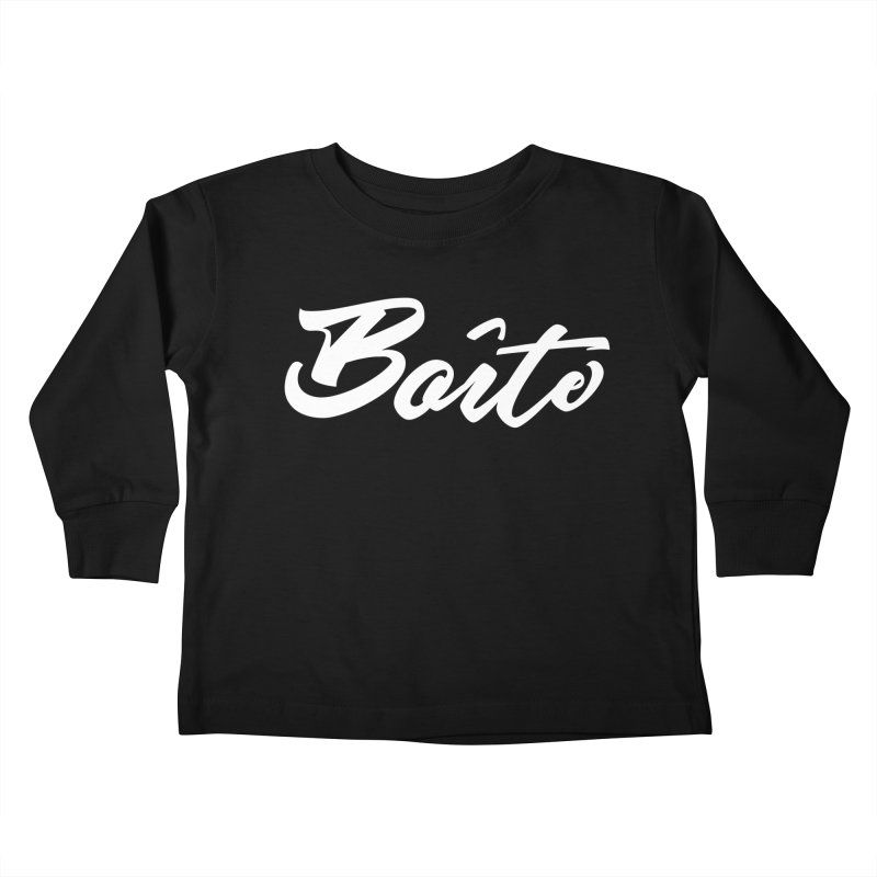 Boîte Kids Toddler Longsleeve T-Shirt by Murphed