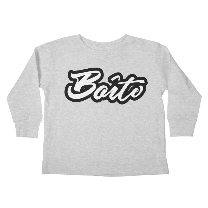 Boîte Kids Toddler Longsleeve T-Shirt by Murphed