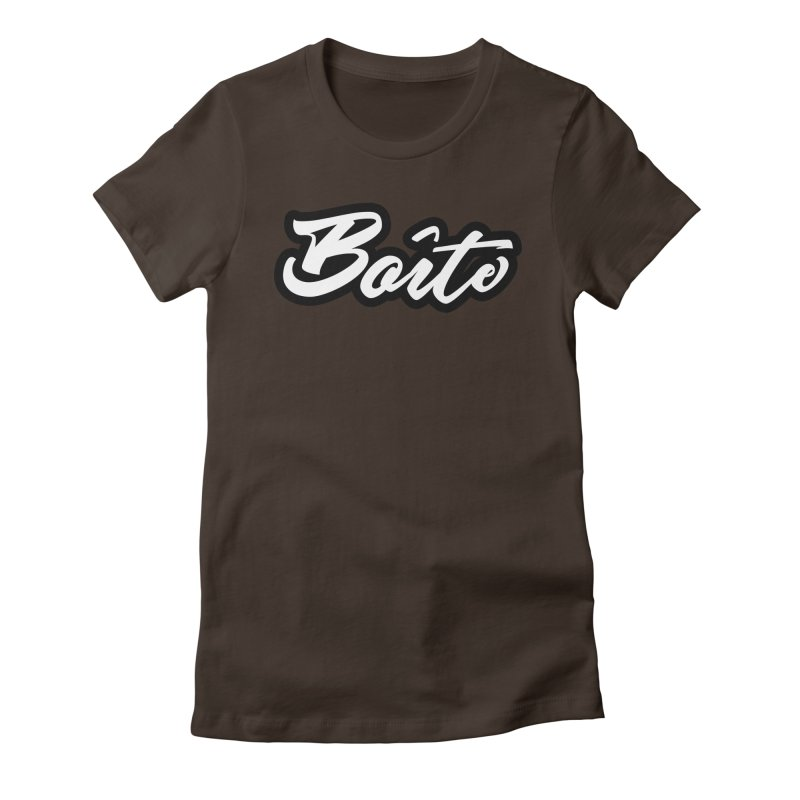 Boîte Women's Fitted T-Shirt by Murphed